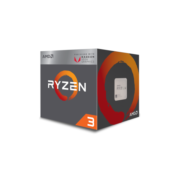 AMD Ryzen 3 2200G Quad-Core AM4 with VEGA Graphics - 4 Core, 4 Threads, Up To 3.7GHz, Includes Wraith Stealth Cooler