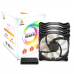 Segotep RGB 120mm Fan Pack, include 3 x 12C0mm RGB Fan, Controller and Wireless remote