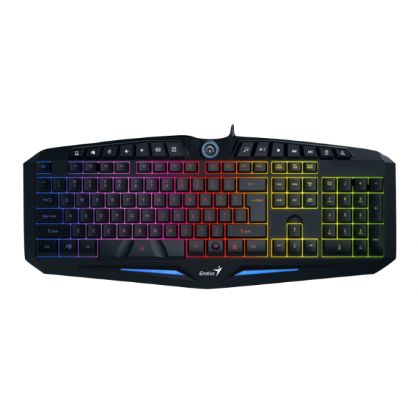 buy genius gx scorpion k9 gaming 14 fn usb wired keyboard online from legend pc. Black Bedroom Furniture Sets. Home Design Ideas