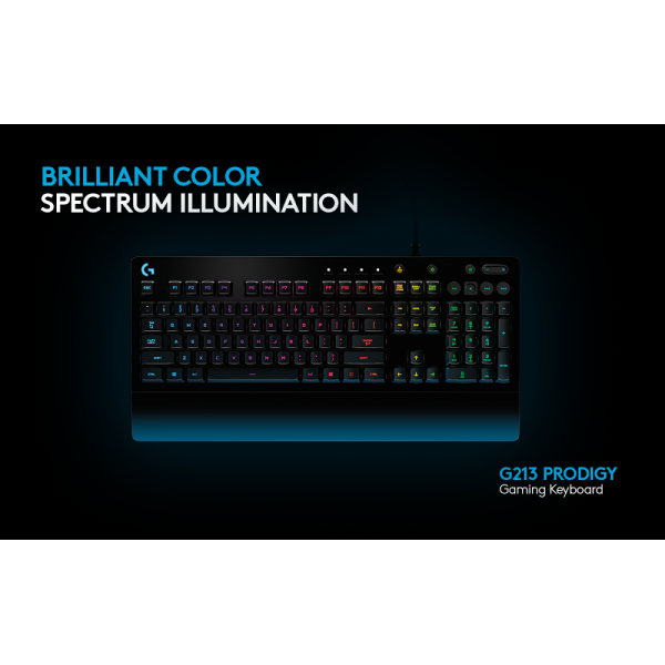 3ca683197a9 Buy Logitech G213 PRODIGY RGB Gaming Keyboard online at Legend PC
