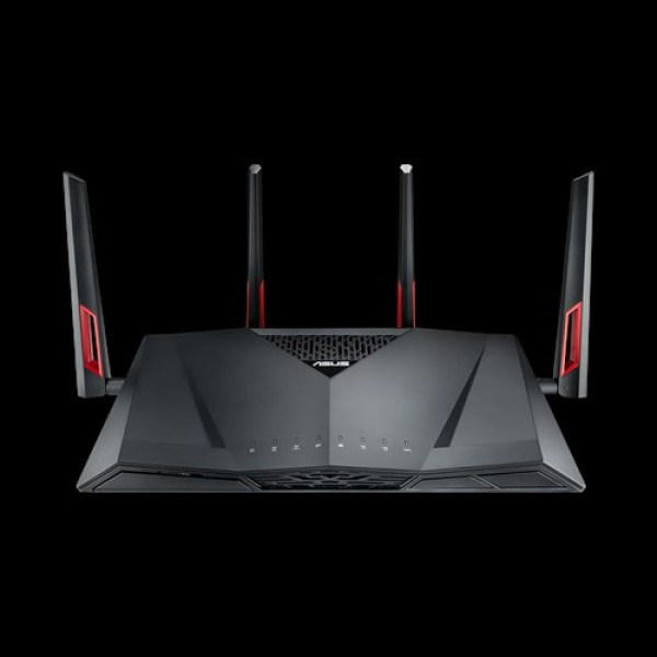 ASUS DSL-AC3100 ADSL/VDSL Gigabit Modem Router, Dual-Band AC3100, 4 x Gigabit LAN, 2 x USB, 4 x HighPerformance Antennas