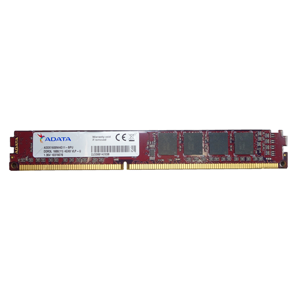 ADATA 4GB DDR3L-1600 VLP Low Voltage DIMM RAM