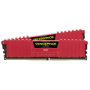 CORSAIR 16R DDR4, 3200MHz 16GB DIMM, 16-18-18-36, Vengeance LPX Red Heat spreader