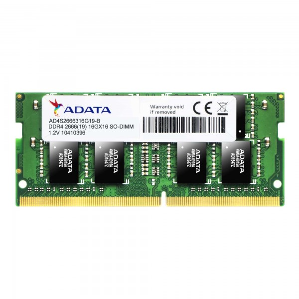 ADATA 16GB DDR4-2666 1024X8 SoDIMM Laptop RAM