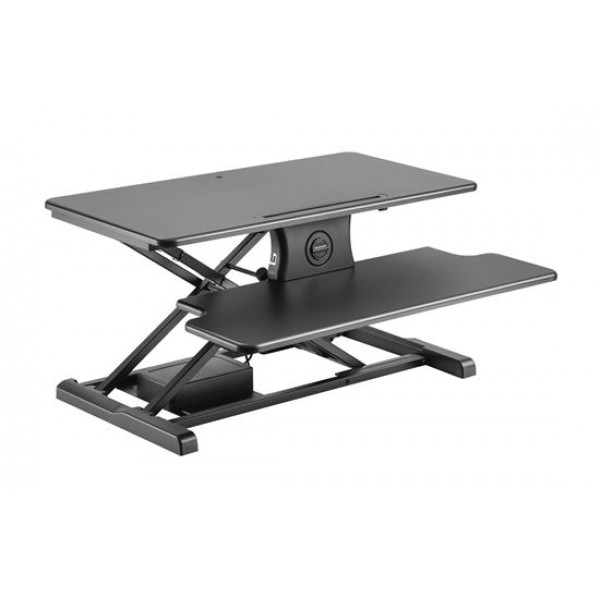 BRATECK Electric Sit-Stand Workstation (Black)