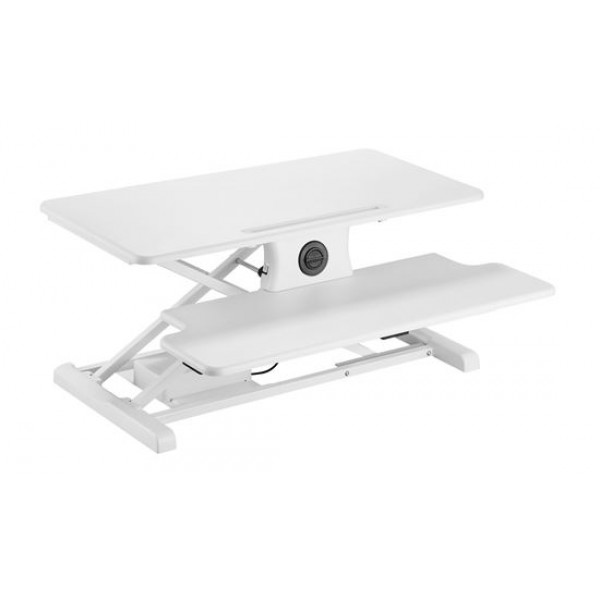 BRATECK Electric Sit-Stand Workstation (White)