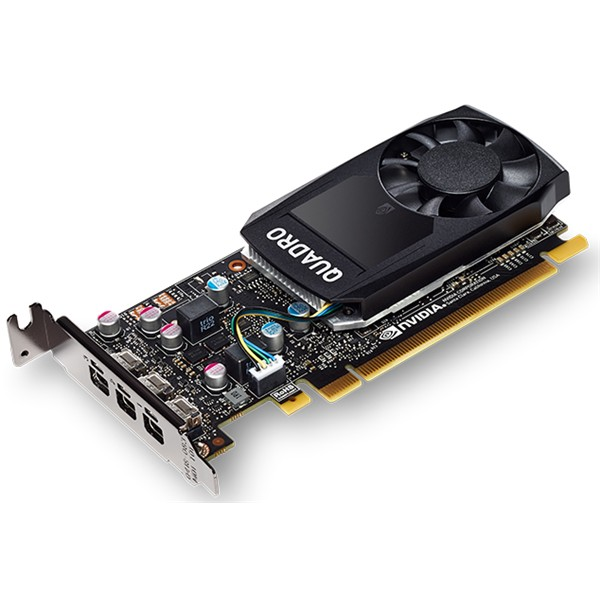 PNY NVIDIA Quadro VCQP400-PB 2GB GDDR5 PCIE Low Profile Graphics Card